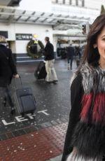 ALESSIA MACARI at Airport in Dublin 12/23/2016