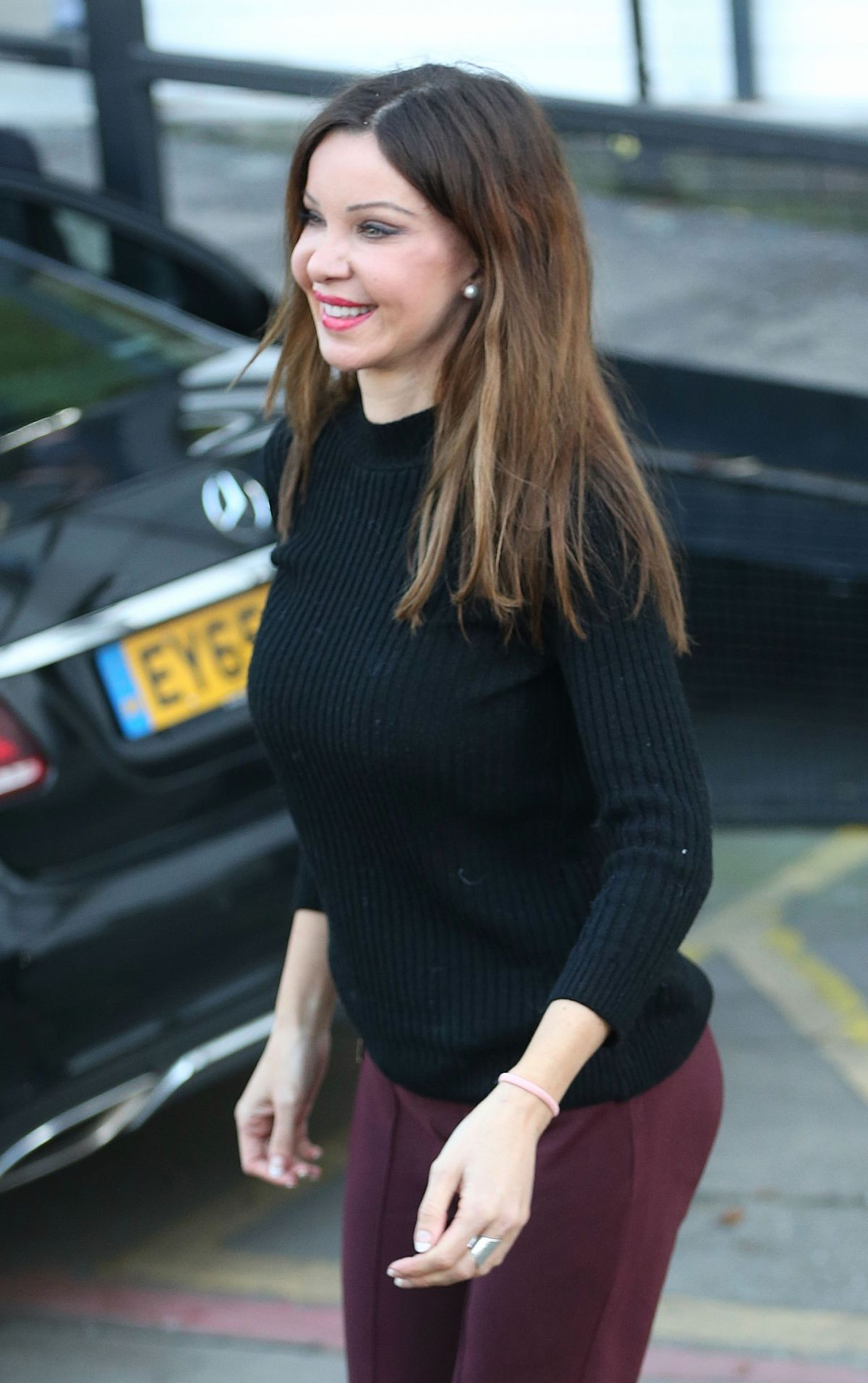 ALICIA DOUVALL at ITV Studios in London 12/22/2016