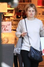 ALISON SUDOL Out for Shopping in Los Angeles 12/22/2016