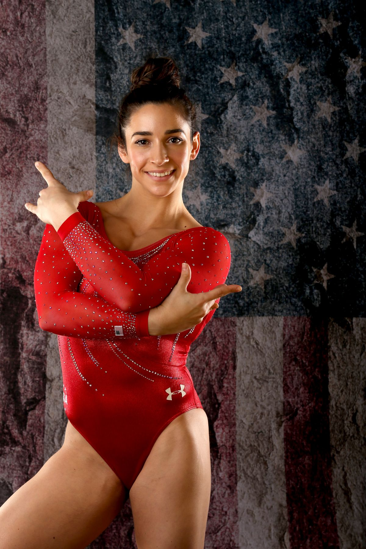 ALY RAISMAN - 2016 Team USA Media Summit Portraits