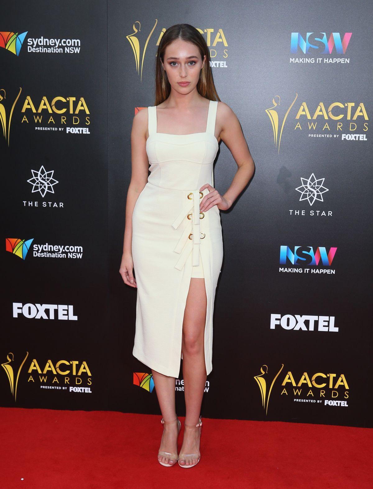 ALYCIA DEBNAM-CAREY  at 6th Aacta Awards in Sydney 07/12/2016