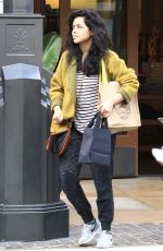 ALYSSA DIAZ Out Shopping in Los Angeles 12/13/2016