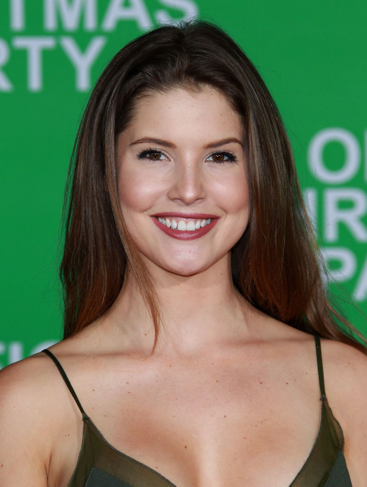 AMANDA CERNY at Office Christmas Party Premiere in Westwood 12/07/2016