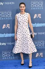 AMANDA PEET at 22nd Annual Critics