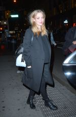 AMANDA SEYFRIED Night Out in New York 12/01/2016