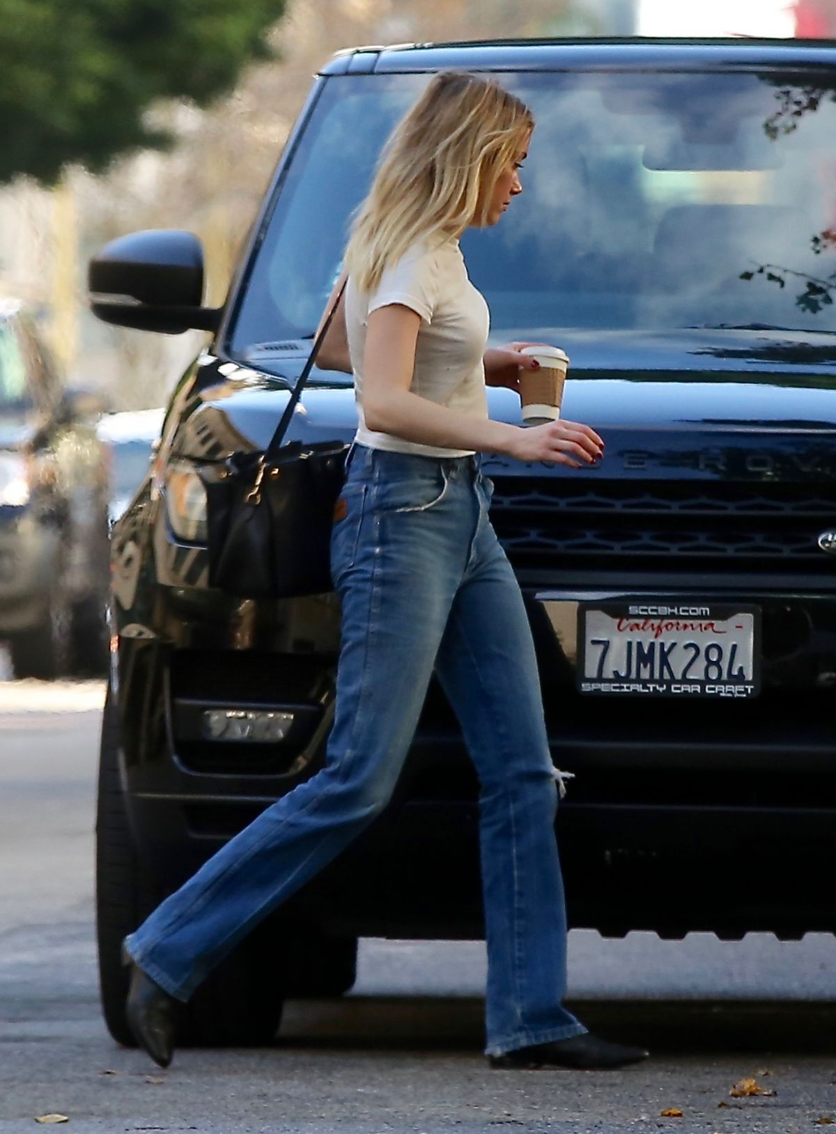 AMBER HEARD Leaves Her Apartment in Los Angeles 12/22/2016