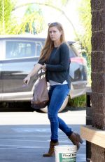 AMY ADAMS Out and About in West Hollywood 12/05/2016