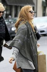 AMY ADAMS Out Shopping in Beverly Hills 12/21/2016
