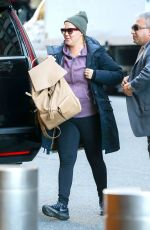 AMY SCHUMER Arrives to Her Hotel in New York 12/19/2016