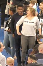 AMY SCHUMER at NY Nicks Game in New York 12/21/2016