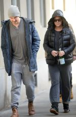 AMY SCHUMER Out with a Friend in New York 12/22/2016