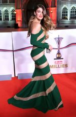 AMY WILLERTON at The Sun Military Awards in London 12/14/2016