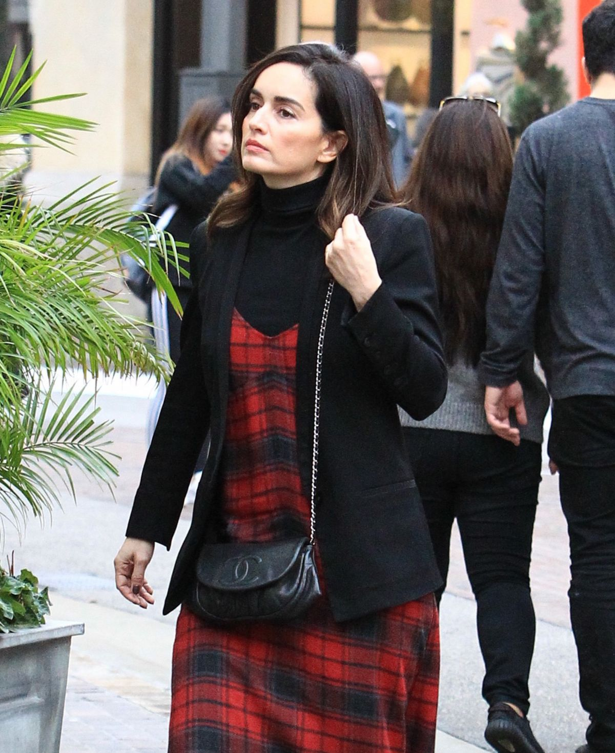 ANA DE LA REGUERA Out for Shopping in Los Angeles 12/12/2016