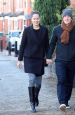 ANA IVANOVIC and Bastian Schweinsteiger Out in Cheshire 11/29/2016