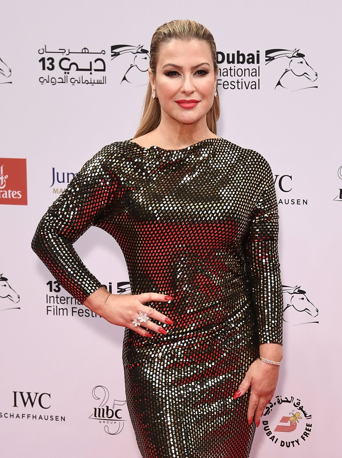 ANASTACIA at 13th Dubai International Film Festival 12/11/2016