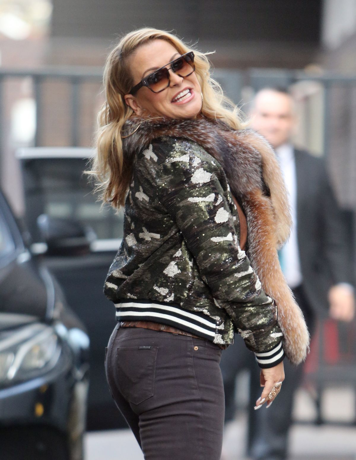ANASTACIA Leaves ITV Studios in London 12/14/2016