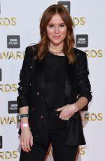 ANGELA SCANLON at BBC Music Awards in London 12/12/2016