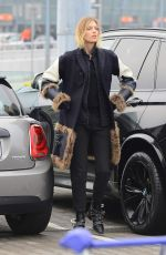 ANJA RUBIK at Airport in Warsaw 12/21/2016