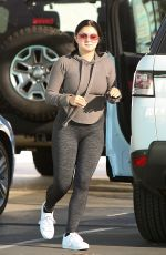 ARIEL WINTER in Tights Out in Los Angeles 11/29/2016