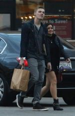 ARIEL WINTER Out Shopping with Her Boyfriend in Los Angeles 12/22/2016