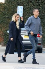 ASHLEE SIMPOSN and Evan Ross Out Shopping in Beverly Hills 12/06/2016