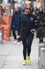 ASHLEY BENSON Leaves a Gym in New York 12/26/2016