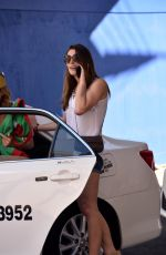 ASHLEY GREENE Out on Christmas Day in Sydney 12/25/2016