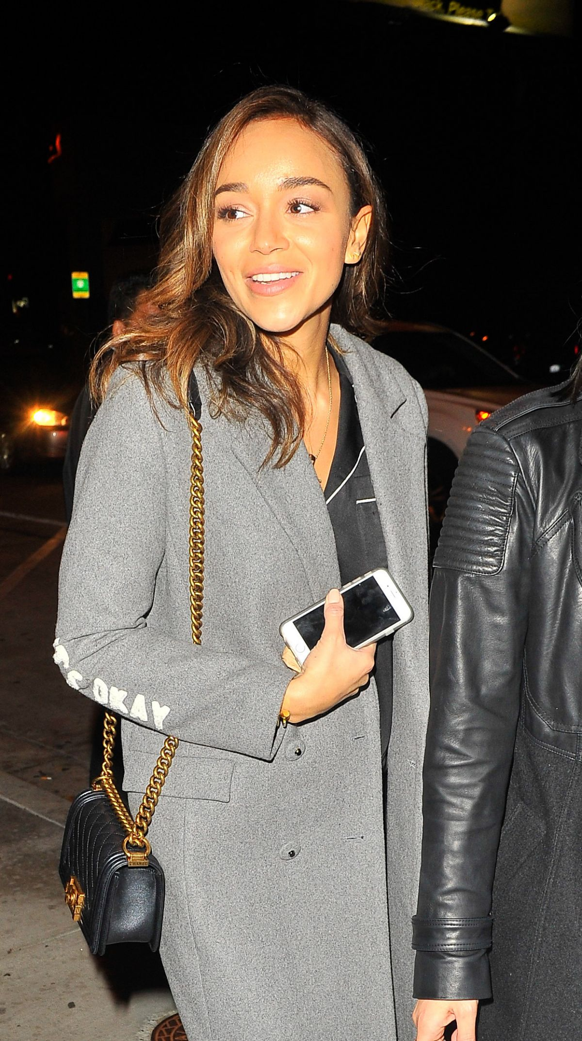 ASHLEY MADEKWE at Catch LA in West Hollywood 12/16/2016