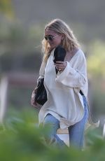 ASHLEY OLSEN Out and About in St. Barth 12/27/2016