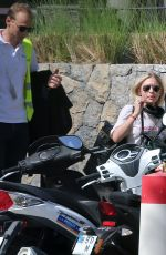 ASHLEY OLSEN Picked by Her Boyfriend at Airport in St. Barths 12/21/2016