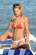 ASHLEY SMITH  in Bikini on the Beach in Miami 12/14/2016