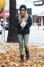 ASHLEY TISDALE Leaves Pilates Class in Los Angeles 12/17/2016