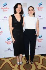 AUBREY PLAZA and MAE WHITMAN at 3rd Annual Make Equality Reality Gala in Beverly Hills 12/05/2016