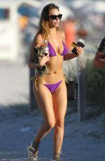AUDREY BOUETTE in Bikini on the Beach in Miami 12/28/2016