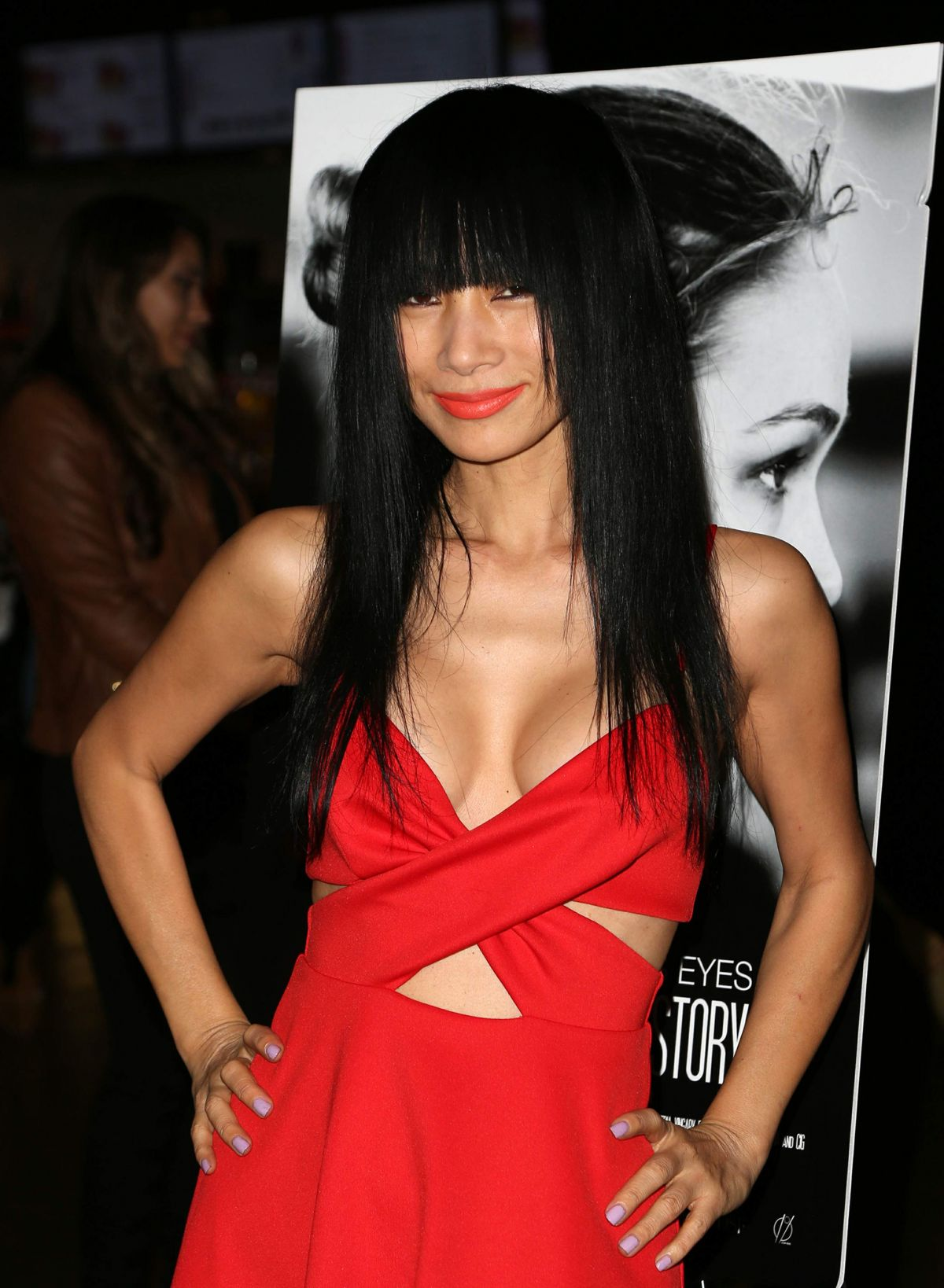 BAI LING at Chinese Mann Theater in Hollywood 12/30/2016