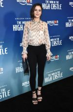 BELLA DAYNE at 'The Man in the High Castle, Season 2 Premiere in West Hollywood 12/08/2016