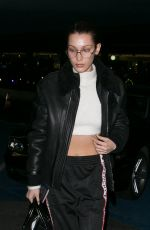 BELLA HADID Night Out in Paris 12/07/2016