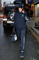 BELLA HADID Out in New York 12/18/2016