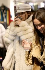 BELLA HADID Out Shopping in Aspen 12/27/2016
