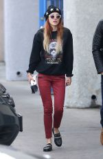 BELLA THORNE Out and About in Los Angeles 12/10/2016