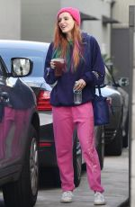 BELLA THORNE Out and About in Los Angeles 12/16/2018