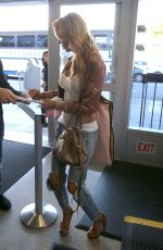 BRANDI GLANVILLE at LAX Airport in Los Angeles 12/29/2016