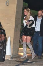 BRITNEY SPEARS Leaves Nobu Restaurant in Malibu 12/01/2016