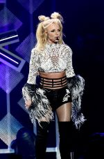 BRITNEY SPEARS Performs at 102.7 Kiis FM's Jingle Ball 2016 in Los Angeles 12/02/2016