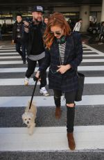 BRITTANY SNOW at Los Angeles International Airport 12/29/2016