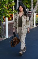 BRITTNY GASTINEAU Shopping at Fred Segal in West Hollywood 12/13/2016