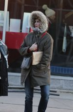 BROOKE SHIELD Out and About in New York 12/20/2016
