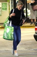CAMERON DIAZ Shopping at Whole Foods in Los Angeles 12/29/ 2016