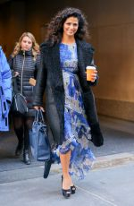 CAMILA ALVES Leaves Today Show in New York 12/20/2016