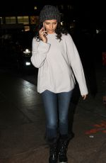 CAMILA ALVES Night Out in New York 12/21/2016